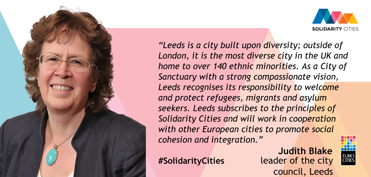 Leader of Leeds City Council Judith Blake on Solidarity Cities