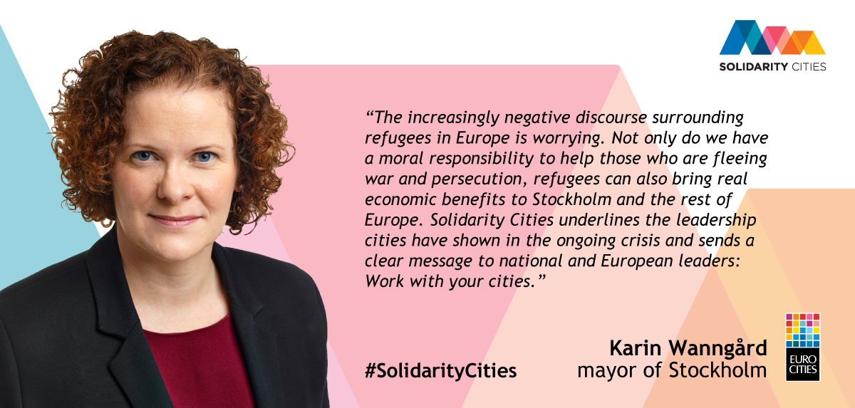 Mayor of Stockholm Karin Wanngard on Solidarity Cities