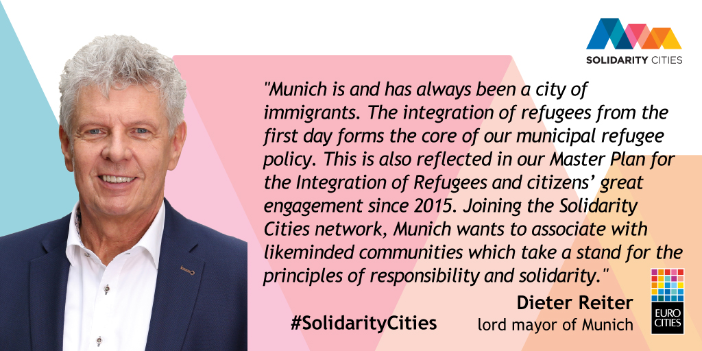 Mayor of Munich Dieter Reiter on Solidarity Cities
