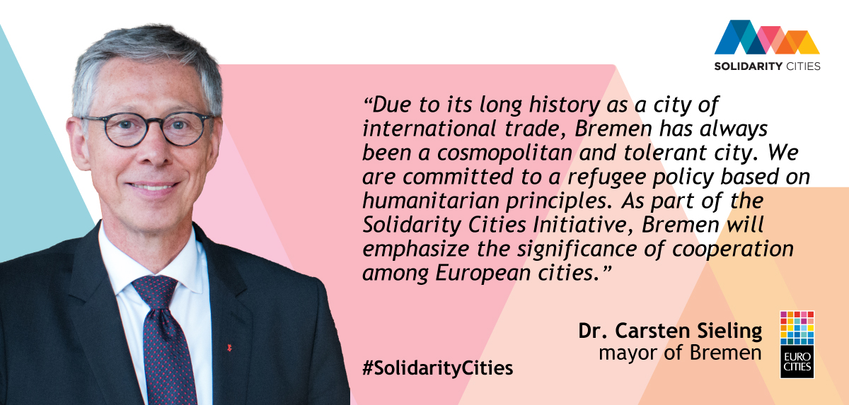 Mayor of Bremen Dr. Carsten Sieling on Solidarity Cities