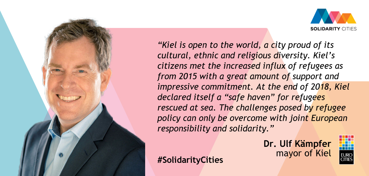 Mayor of Kiel Dr Ulf Kämpfer on Solidarity Cities 2