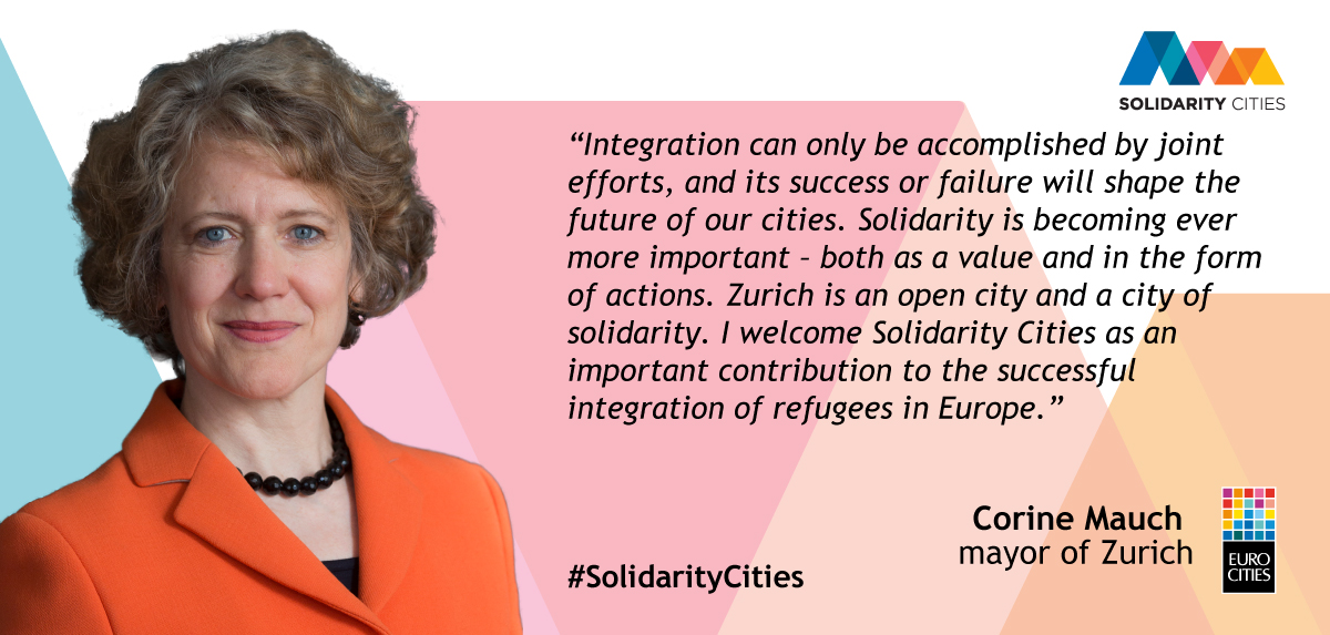 Mayor of Zurich Corine Mauch on Solidarity Cities