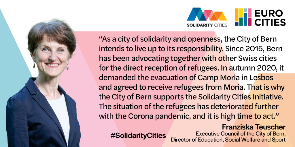 Executive Council of Bern Franziska Teuscher on Solidarity Cities