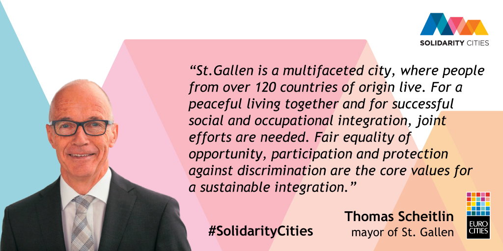 Mayor of St. Gallen Thomas Scheitlin on Solidarity Cities
