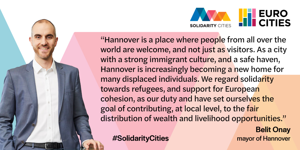 Mayor of Hannover Belit Onay on Solidarity Cities