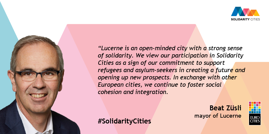 Mayor of Lucerne Beat Züsli on Solidarity Cities