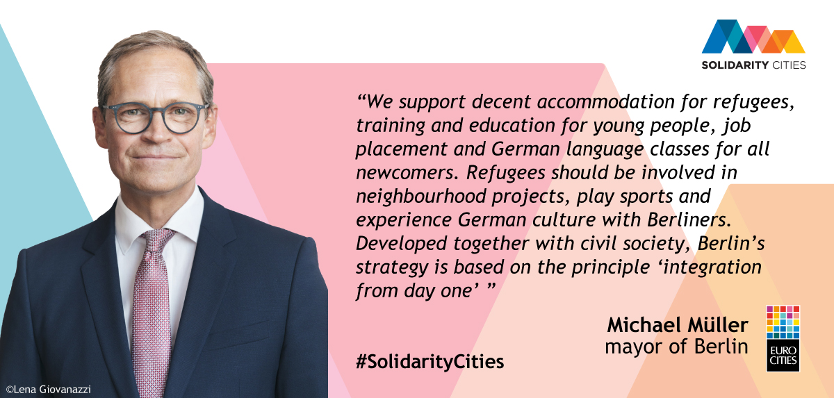 Berlin joins Solidarity Cities