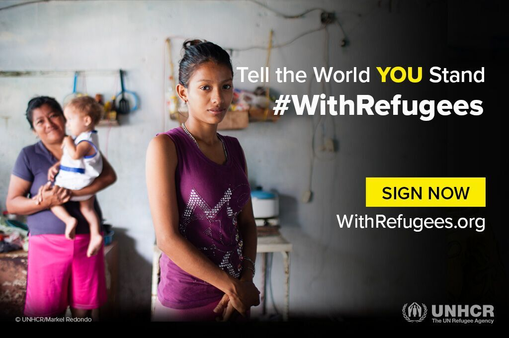 Solidarity Cities stand #WithRefugees on Refugee Day